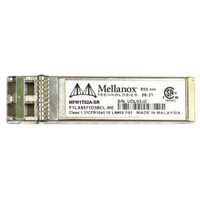Mellanox Mellanox optical module, ETH 10GbE, 10Gb/s, SFP+, LC-LC, 1310nm, LR up to 10km (MFM1T02A-LR)画像