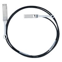 Mellanox passive copper cable, 1X SFP+ to QSFP, 10Gb/s, 30 AWG, 1m画像