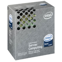 Intel Dual-Core Xeon (Conroe) 2.66GHz, 4M cache, 3070 BOX (BX805573070)画像