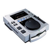 PIONEER THE PROFESSIONAL CD PLAYER (CDJ-100S)画像