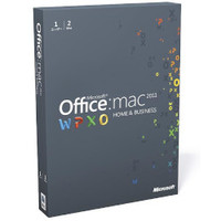 Microsoft Office for Mac Home and Business Multi Pack 2011 日本語版 (W9F-00024)画像