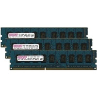 PC3-10600/DDR3-1333 24GBキット(8GB 3枚組み) 240pin unbuffered DIMM ECC付 日本製画像