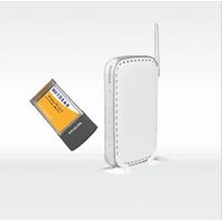 NETGEAR 802.11g Wireless Router & PC Card (WGB511C-100JPS)画像