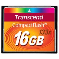 16GB CF CARD (133X、 TYPE I ) TS16GCF133画像