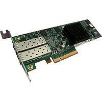 2-port 10GbE Storage Accelerator with PCI-E 8x w/Optical Interface, twin-ax ready - Half Height