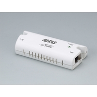 BUFFALO AirStation専用PoE(Power over Ethernet)給電アダプタ (WLE2-POE-S)画像