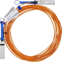 Mellanoxactive fiber cable, VPI, up to 56Gb/s, QSFP, 5m画像