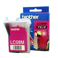 brother インクカートリッジ LC08M (LC08M)画像