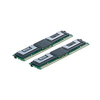 BUFFALO D2/F800-E2GX2 DDR2-800 SDRAM(PC2-6400) 240Pin FB-DIMM 2GB 2枚組 (D2/F800-E2GX2)画像