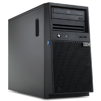 IBM [N-1商品] IBM.Server System x3100 M4 Pentium G Dual-Core 2.90 GHz 3 MB Cache RAM 4 GB 250 GB DVD-ROM Gigabit Enabled (1.00 Gbps) No OS Installed No License Language: Japanese Tower (2582PAK-01)画像