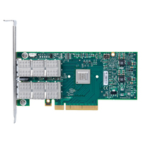 ConnectX-3 VPI adapter card, dual-port QSFP, QDR IB (40Gb/s) and 10GigE,PCIe3.0 x8 8GT/s, tall bracket, RoHS R6画像