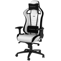 noblechairs noblechairs EPIC プレミアムホワイト (NBL-PU-WHT-002)画像