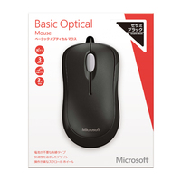 Microsoft Basic Optical Mouse for Business Mac/Win USB Japanese 1 License Black画像