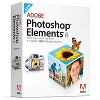 Adobe Photoshop Elements 6 日本語版 MAC 通常版 (19230235)画像