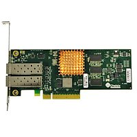 2-port Low Latency Low Profile 1/10GbE UWire Adapter with PCI-E x8 Gen 2 32K conn. Direct Attach