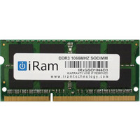 IR4GSO1066D3 4GB PC3-8500 SO-DIMM 204pin画像