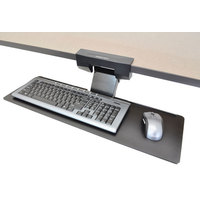 Ergotron TRAY、 KEYBOARD、 RETRACTABLE、 BLACK E-COAT (97-582-009)画像