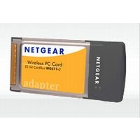 NETGEAR 802.11g Wireless PC Card (WG511AJP)画像