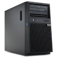 IBM.Server System x3100 M4 Xeon Quad-Core 3.10 GHz 1333 MHz RAM 2 GB No Hard Drive DVD-ROM 2 x Gigabit EN Server 2008 R2 License Only - No OS Installed Tower