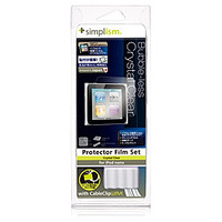 Simplism Bubble-less Film Set for iPod nano (6th) Crystal Clear (TR-PFSNN6-BLCC)画像