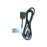 HPE Aruba RJ45 to DB9 Console Cable画像
