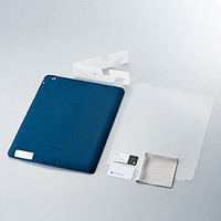 Simplism Silicone Case Set for iPad 2 Navy TR-SCSIPD2-NV (TR-SCSIPD2-NV)画像