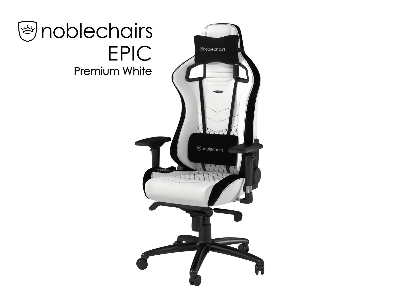 noblechairs EPIC プレミアムホワイト